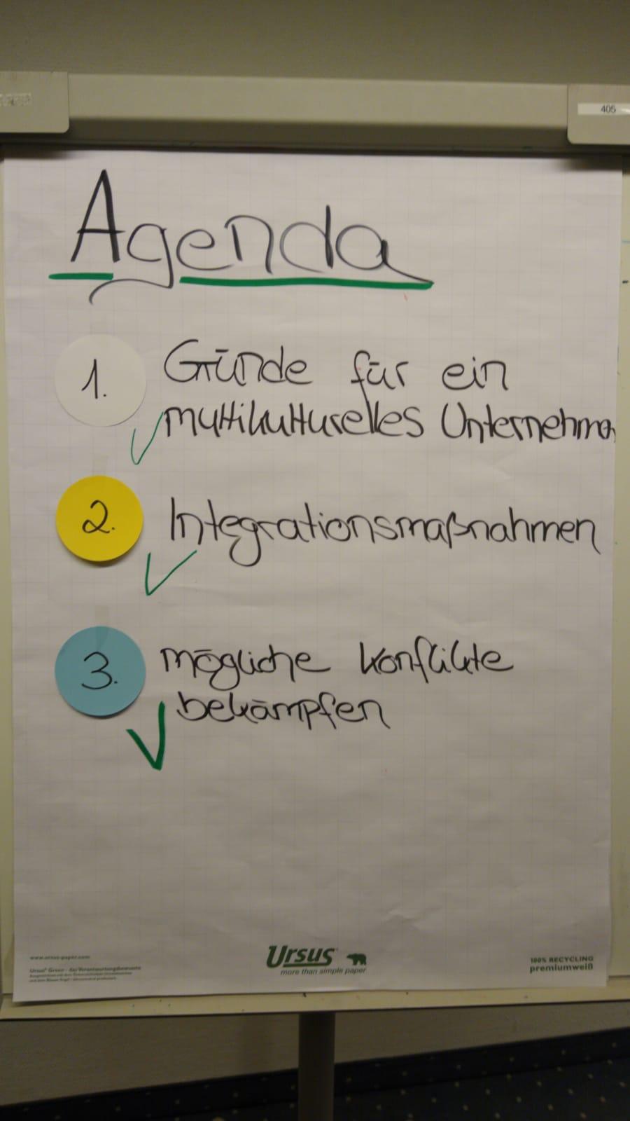 Wirtschaftsfachwirt 13 Agenda - Beispiele